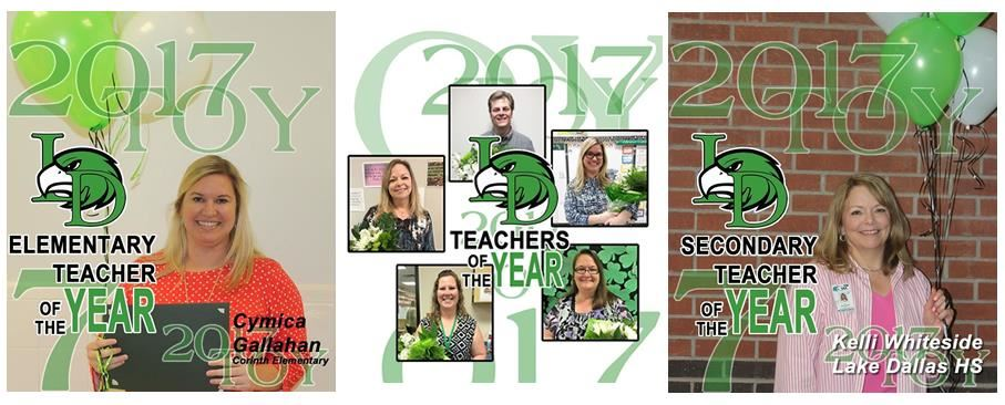 2017 Teachers of the Year