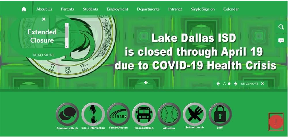 Latest Update COVID-19 LDISD