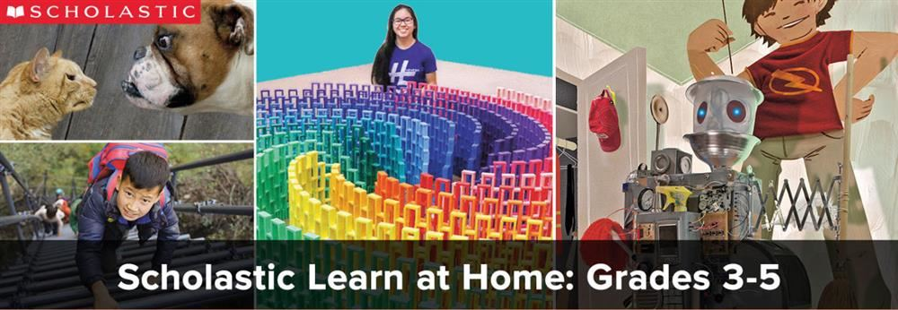 scholastic learn at home banner