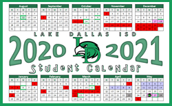 2020-2021 Calendars Adopted