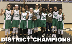 District Championship for 8th Girls Basketball