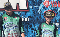 Bass Fishermen Finish 12th in State!
