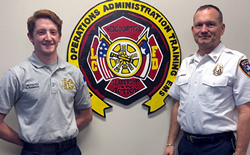 Fire Academy Grad Hired by Lake Cities FD