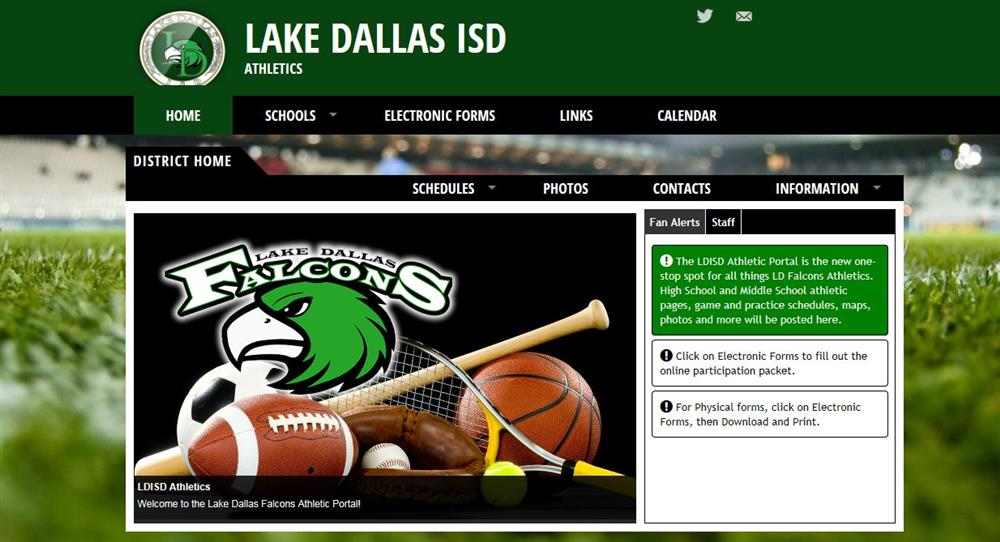 LD Athletic Portal