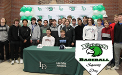 Falcon Baseball Players Sign to Play College Ball