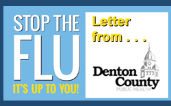 Denton County Health Department issues Flu Letter