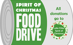 Spirit of Christmas Food Drive Starts