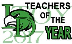 LD Campuses Name 2017 Teachers of the Year