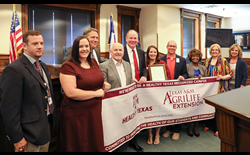 LDMS is First Denton Co. Healthy Texas Recognized School