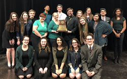 LD One Act Play Receives Awards at Zone and District Competitions