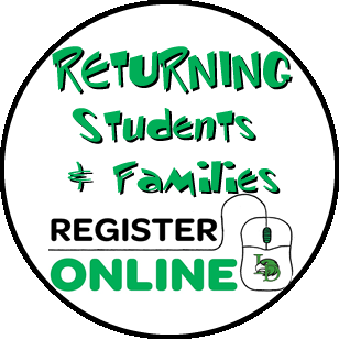 Returning Student? Click for Online Registration info
