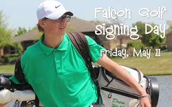 Falcon Golfer Signs with Ranger College