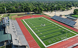 A photo of Falcon Stadium